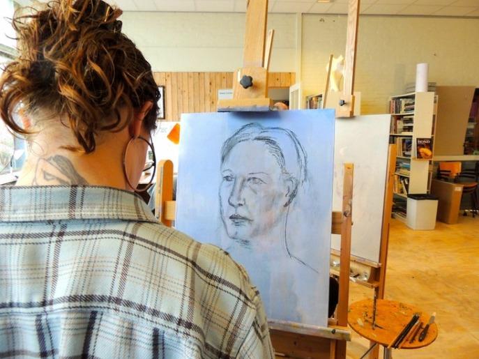 workshop portret schilderen 06